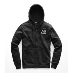 The North Face Men's Full Zip Patches Hoodie - Past Season