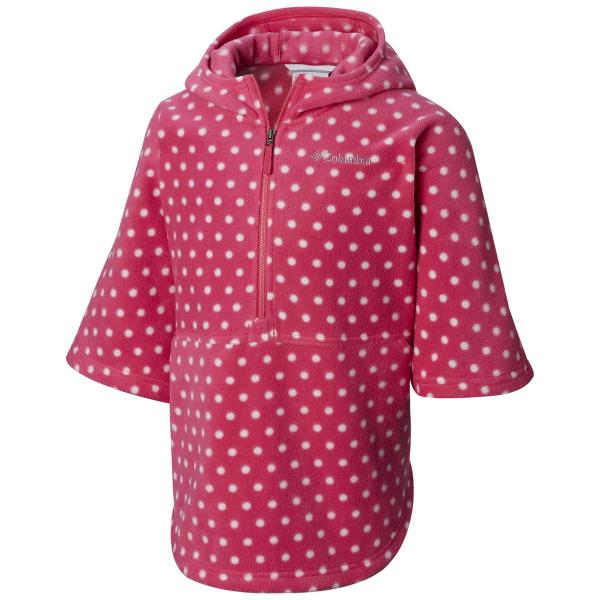Columbia Youth Girls' Benton Springs Printed Half Zip Poncho
