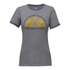 Women's Short Sleeve Dome Tri-Blend Ringer Tee - Past Season