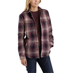 Women's Hubbard Sherpa Lined Shirt Jac - Discontinued Pricing