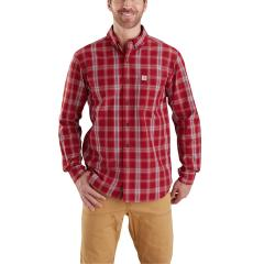 Men's Essential Plaid Button Down Long Sleeve Shirt - Discontinued Pricing