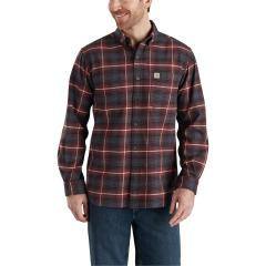 Men's Rugged Flex Hamilton Button Plaid Shirt - Discontinued Pricing