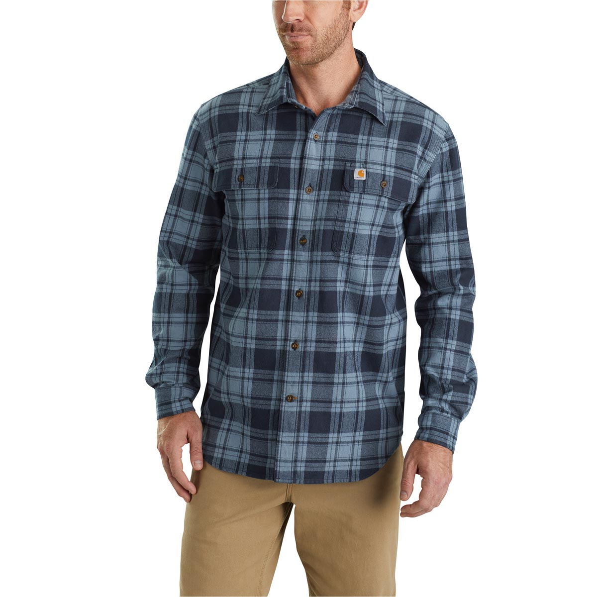 fbb8114dd5d90a Carhartt Men's Hubbard Plaid Shirt - Discontinued Pricing