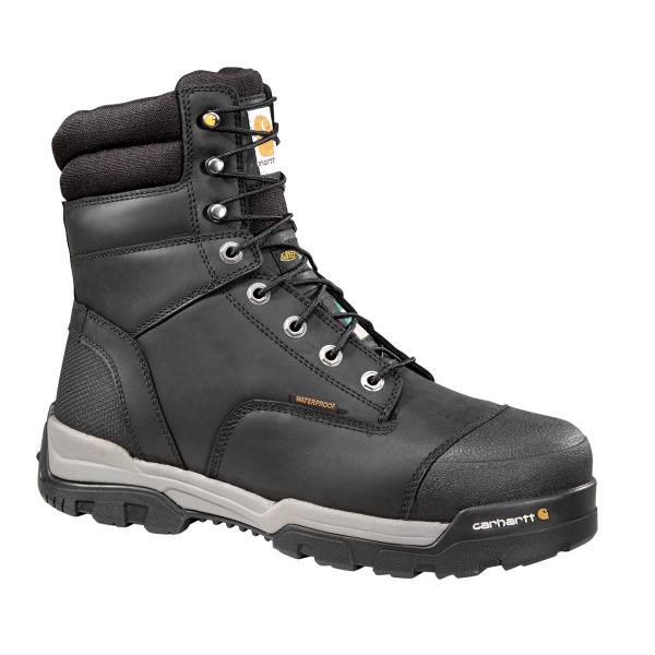 Carhartt Men's 8 Inch Ground Force Waterproof Work Boot - Composite Toe