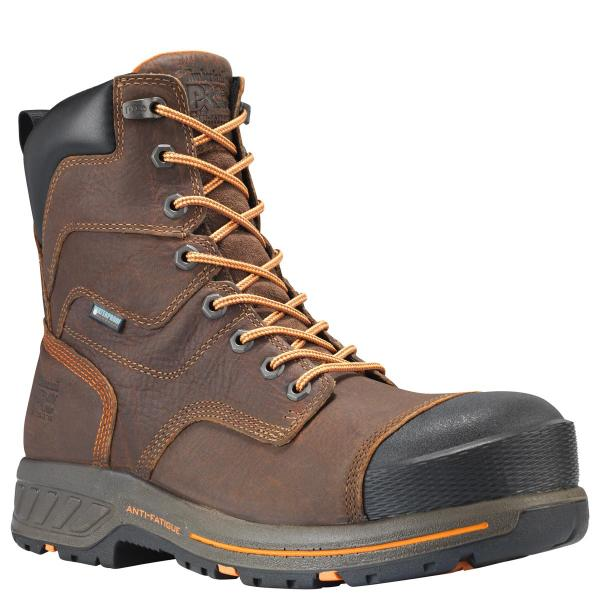 Timberland Men's Helix HD 8 Inch Composite Safety Toe Waterproof