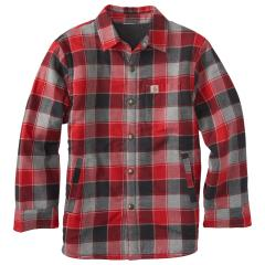 Boys' Lined Flannel Shirt Jac