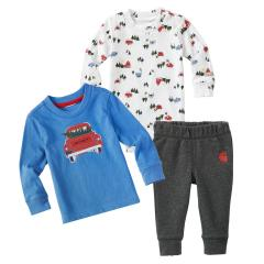 Infant Boys' Holiday 3 Piece Gift Set