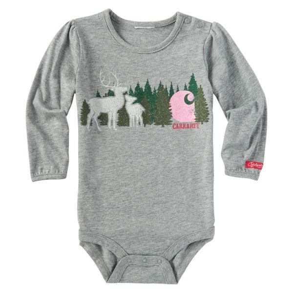 1e88ad054 Carhartt Infant Girls' Treeline Deer Bodyshirt | Free Shipping