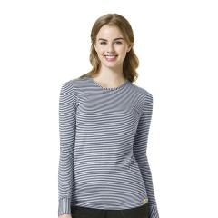 Women's Long Sleeve Striped Tee