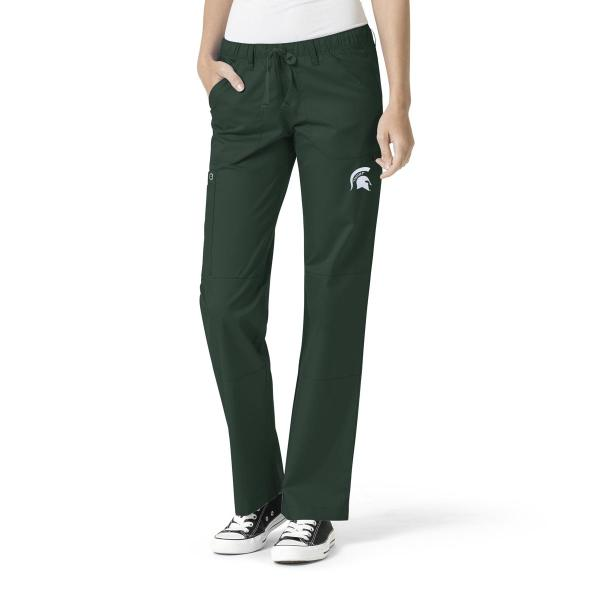 Wink Scrubs Women's MSU Logo Straight