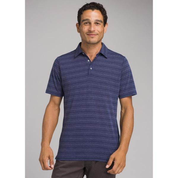 prAna Men's Neriah Short Sleeve Polo