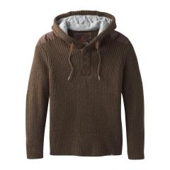 Men's Hooded Henley Sweater
