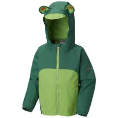 Toddlers' Kitteribbit Fleece Lined Rain Jacket