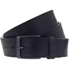 Men's Ohio Black Leather Belt