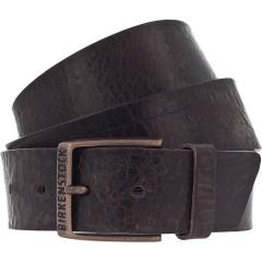 Birkenstock Men's Ohio Dark Brown Leather Belt