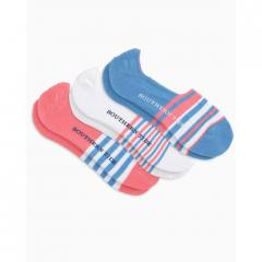 Southern Tide Women's Three Pack No Show Socks