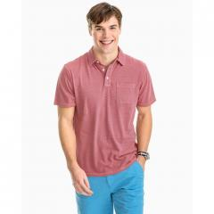 Southern Tide Men's Micro Stripe Island Road Jersey Polo