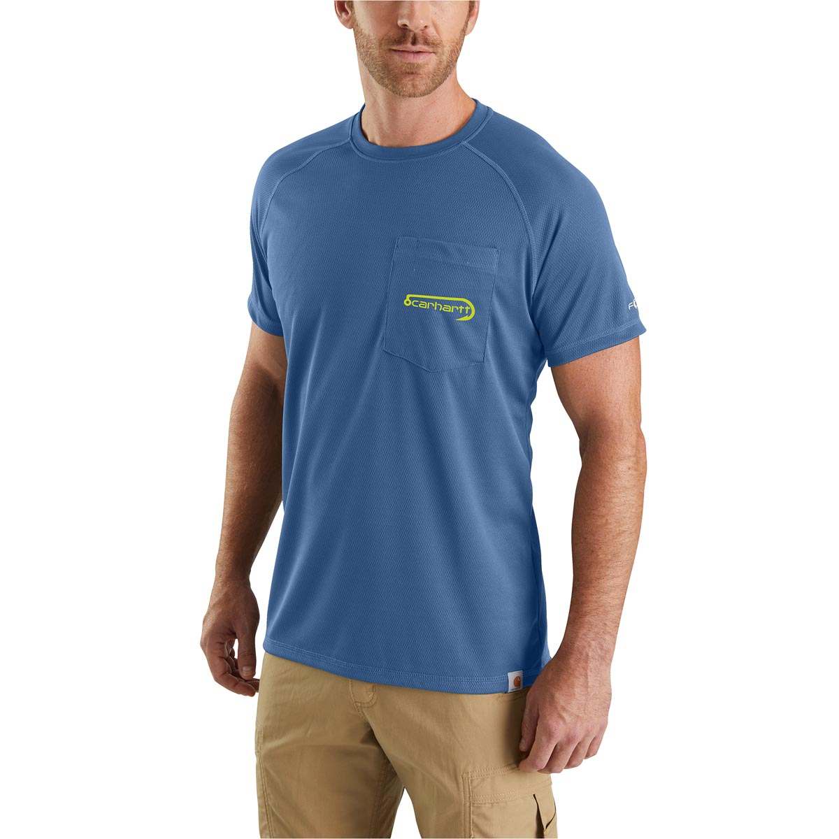 Carhartt Men's Force Fishing Graphic Short Sleeve T-Shirt