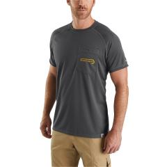 Men's Force Fishing Graphic Short Sleeve T-Shirt