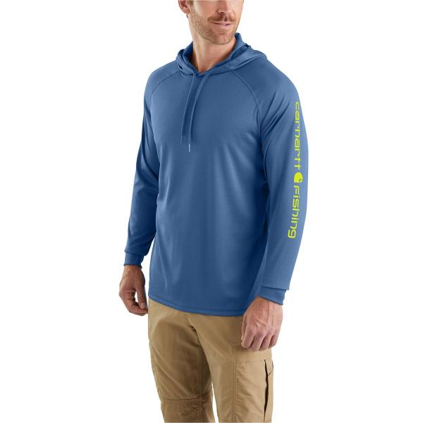 Carhartt Men's Force Fishing Graphic Hooded T-Shirt