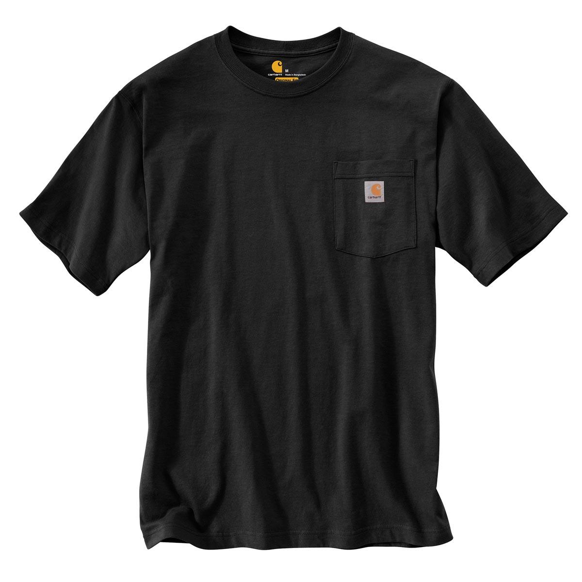 Carhartt Men's Workwear Logo Fish Graphic Pocket Short Sleeve T-Shirt