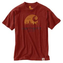 Carhartt Men's Maddock Mountain C Graphic Short Sleeve T-Shirt