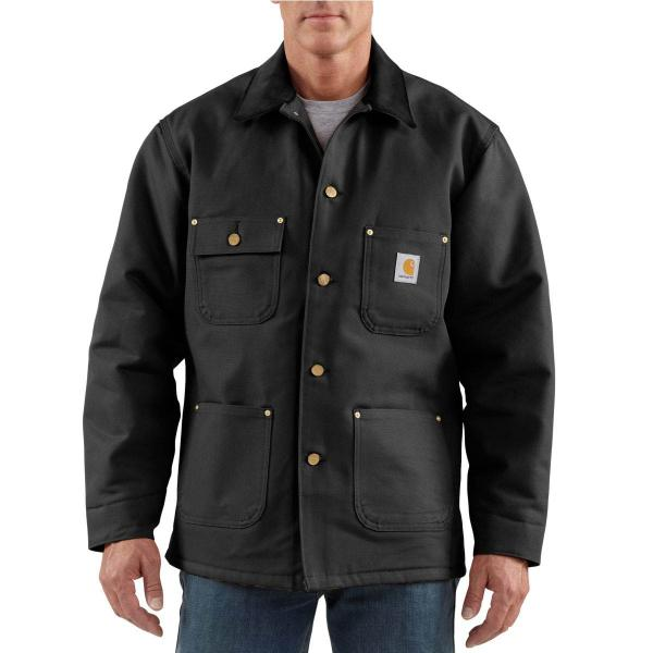 e1e4a31531 Carhartt Men's Duck Chore Coat - Blanket Lined - Discontinued Pricing