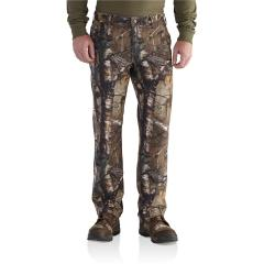 Carhartt Men's Rugged Flex Rigby Camo Dungaree - Discontinued Pricing