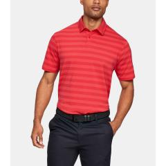 Under Armour Men's Charged Cotton Scramble Stripe Polo