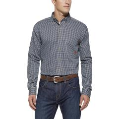 Men's FR Plaid Work Shirt