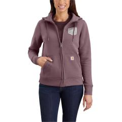 Women's Clarksburg Full Zip Graphic Hooded Sweatshirt