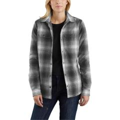 Carhartt Women's Hubbard Sherpa Lined Shirt Jac - Discontinued Pricing