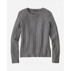 Women's Merino Cable Pullover