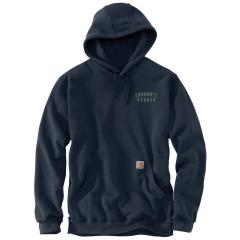 Men's Original Fit Midweight Hooded Rugged Workwear Graphic Sweatshirt TS442
