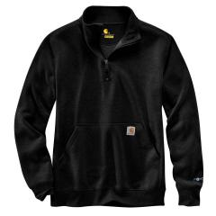 Men's Force Relaxed Fit Midweight Quarter Zip Pocket Sweatshirt TS475