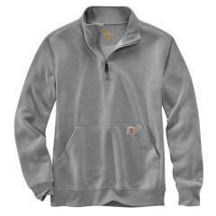 Men's Force Relaxed Fit Midweight Quarter Zip Pocket Sweatshirt
