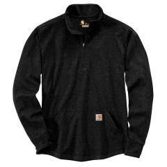 Men's Relaxed Fit Heavyweight LS Half Zip Thermal T-Shirt