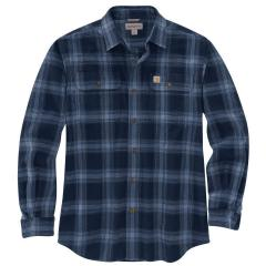 Men's Original Fit Flannel Long-Sleeve Plaid Shirt TW451
