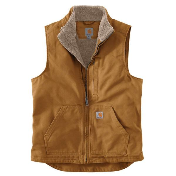 Carhartt Men's Sherpa-Lined Mock Neck Vest