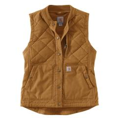 Women's Rugged Flex Canvas Rib Collar Vest OV423