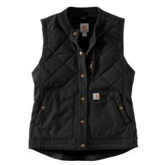 Women's Rugged Flex Canvas Rib Collar Vest