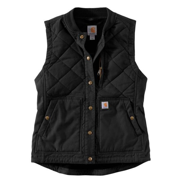 Carhartt Women's Rugged Flex Canvas Rib Collar Vest