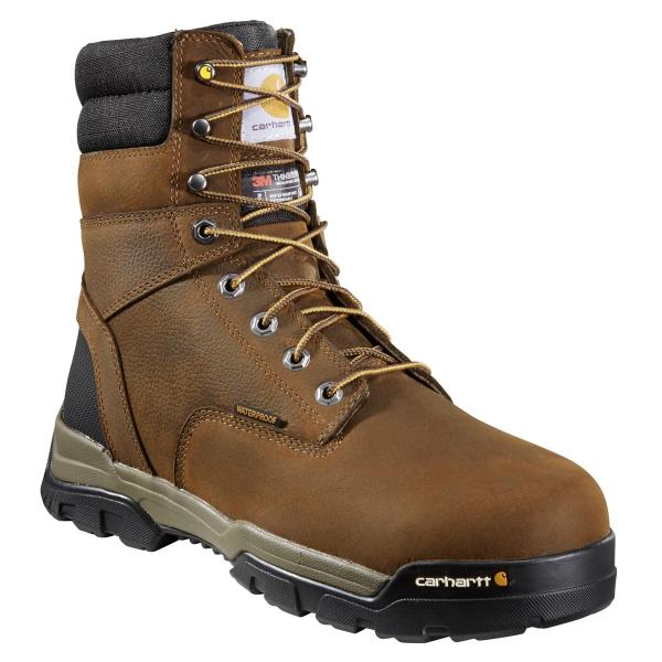 Carhartt Men's Ground Force 8 Inch Waterproof Composite Toe