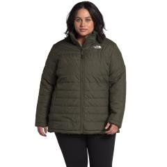 The North Face Women's Plus Mossbud Insulated Reversible Jacket