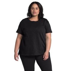 Women's Plus SS Emerine Top Past Season