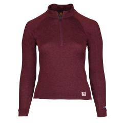 Women's Base Force Heavyweight Poly-Wool Quarter-Zip