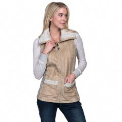 Women's Dani Sherpa Vest - Past Season