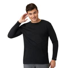 Wink Scrubs Men's Crew Neck Long Sleeve Tee - Extended Sizes