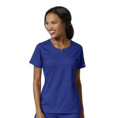 Women's 4 Pocket Notch Neck Top - Extended Sizes