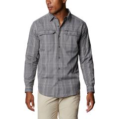 Men's Silver Ridge 2.0 Plaid Long Sleeve Shirt